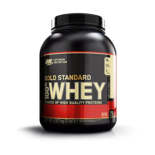 Optimum Nutrition Whey Gold Standard Protein, Vanille, 2,3 kg im Whey Protein Fakten-Test 2018