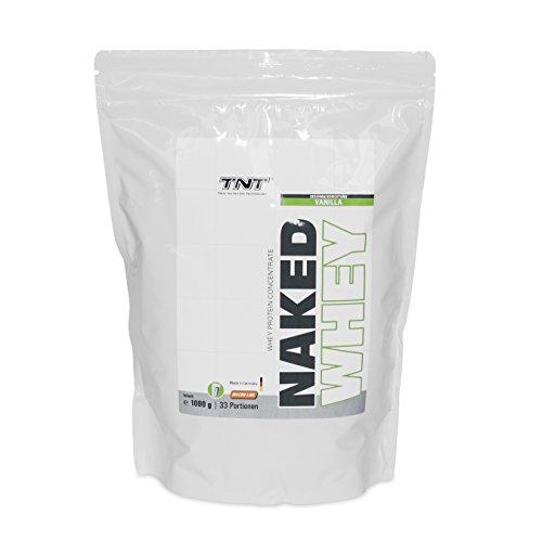 Hochwertiges Whey-Protein Konzentrat - Made in Germany | Eiweiß-Shake für Muskelaufbau und Abnehmen | Aspartamfrei, Glutenfrei m im Whey Protein Fakten-Test 2018
