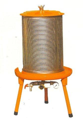 Speidel Obstpresse, hydraulisch im Obstpresse Fakten-Test 2017