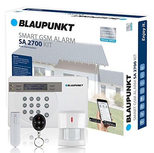 Blaupunkt SA 2700 Smart GSM Funk-Alarmanlage im Alarmanlage Haus Fakten-Test 2017