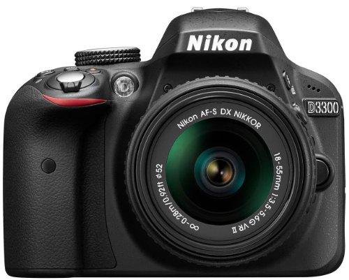 Nikon D3300 SLR-Digitalkamera im Spiegelreflexkamera Fakten-Test 2018