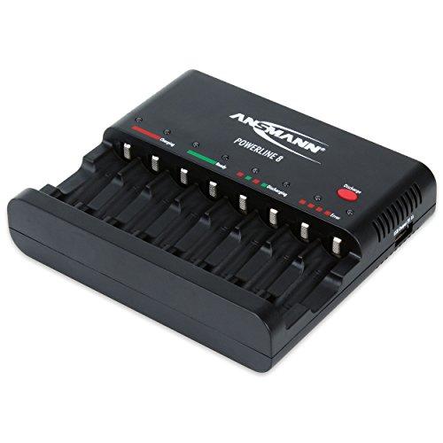 ANSMANN Powerline 8 Akku-Ladegerät  im Akkuladegeräte Fakten-Test 2019