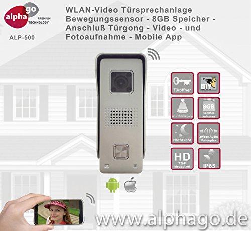 WLAN Video Türsprechanlage ALP500