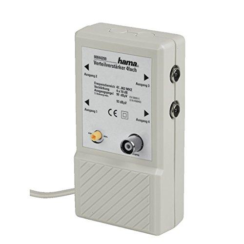 Verteilverstärker für BK Anlagen im Antennenverstärker Fakten-Test 2019