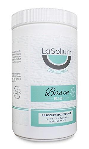 Basenbad von LaSolium - 1000 g  im Basenpulver Fakten-Test 2019
