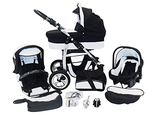 Dino 3 in 1 Kinderwagen Set Fakten-Test