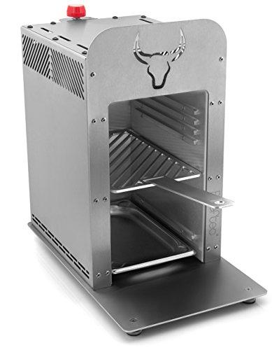 Beeftec HOTBOX C900 | Der 800 Grad Oberhitze-Gasgrill aus Edelstahl | inkl. Gastroschale, Handschuhe u.v.m. im Beeftec Hotbox Fakten-Test 2017