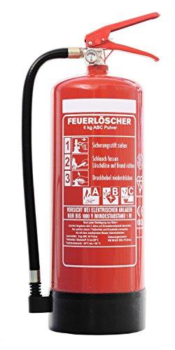 ABC Pulver Feuerlöscher