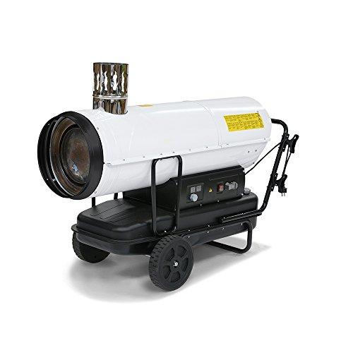 TROTEC Ölheizgebläse Heizkanone IDE 50 (50 kW Heizleistung) im Ölheizgebläse Fakten-Test 2018