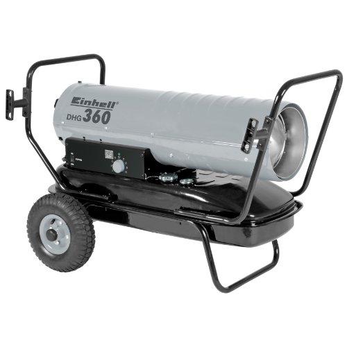 Einhell Diesel Heizgebläse DHG 360 (Heizleistung bis 36 kW, 900m³/h Luftdurchsatz, 38 l Tank, bis 300 qm Raumgröße, elektronisch