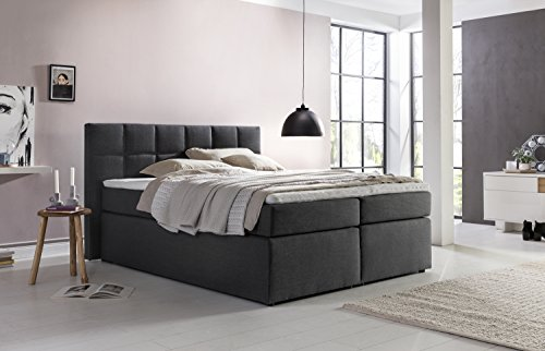 boxspringbett von m belfreude m belfreude boxspringbett bea stabile. Black Bedroom Furniture Sets. Home Design Ideas