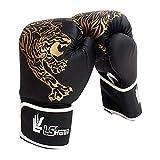 Yves25Tate Premium Boxhandschuhe für Erwachsene & Kinder, Kinder Taekwondo Sanda Combat Handschuhe, dick, verschleißfest, wasserdicht, für Sparring, Kickboxen, Boxsack, Kampf, Muay Thai, Sport