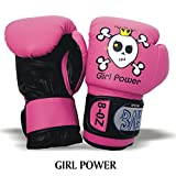 BAY GIRL POWER (4 Unzen) pink posa Kinder Boxhandschuhe (4 Unzen)