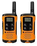 Motorola TLKR T41 PMR Funkgerät mit LC-Display orange