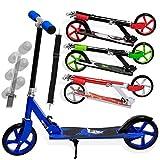KESSER Scooter Roller Kinderroller Cityroller Tretroller Kickroller Kickscooter Design / Farbe: Shark (Blue)