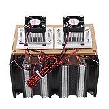 Halbleiterkühlsystem, 144-W-Doppelkern-Peltier-Luftentfeuchtungsgerät für die Halbleiterkühlung