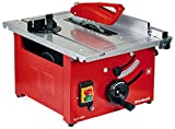Einhell Tischkreissäge TC-TS 1200 (900 W, 4800 min-1, pulverbeschichteter Sägetisch, Winkeleinstellung für Gehrungsschnitte, höhenverstellbares, Winkelanschlag.Sägeblatt mit Hartmetallsägezähnen)240 V