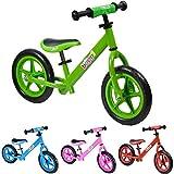 Lauflernrad aus Metall von boppi (2-5 Jahre) - Grün