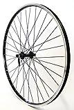 28 Zoll Fahrrad Laufrad Vorderrad Hohlkammerfelge CUT 19 Shimano Deore 610 schwarz für V-Brakes/Felgenbremse
