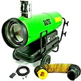 BAUTEC Ölheizer 50 kW indirekte Heizkanone Heizgerät Dieselheizer mit Kamin