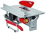 Einhell Tischkreissäge TC-TS 820 (800 W, Sägeblatt-Ø 200 mm, max. Schnitthöhe 45 mm, Tischgröße 500 x 335 mm)