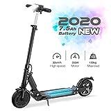 GeekMe Elektroroller E-Scooter Zusammenklappbarer Elektroroller Roller mit 3 Geschwindigkeitsmodi Bis zu 30 km/h   7,5 A Li-Ionen-Akku   Maximale Belastung von 120 kg Für Erwachsene und Kinder