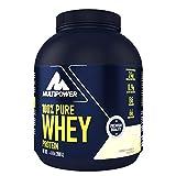 Multipower 100% Pure Whey Protein – wasserlösliches Proteinpulver mit Vanille Geschmack – Eiweißpulver mit Whey Isolate als Hauptquelle – Vitamin B6 und hohem BCAA-Anteil – 2 kg