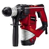 Einhell Bohrhammer TH-RH 900/1 (900 W, 3 J, Bohrleistung in Beton 26 mm, SDS-Plus-Aufnahme, Metall-Tiefenanschlag, Koffer)