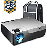 VANKYO Performance V600 Beamer, 6000 Lumen Full HD Beamer, Native 1080P(1920 x 1080) Video Beamer Heimkino mit 300' Display, unterstützt HDMI USB VGA TV Stick Xbox Laptop Smartphone, für Powerpoint