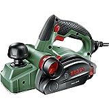 Bosch Handhobel PHO 2000, Hobelmesser, Karton (680 W, Hobelbreite 82 mm, Spantiefe 0 – 2,0 mm, Falztiefe 0 – 8 mm)