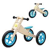 Vinz Laufrad 2 in 1   Kinderlaufrad Lernlaufrad Lauflernrad   ab 1 Jahre (18 Monaten)   Kinder Fahrrad Dreirad Kinderdreirad (Blau)