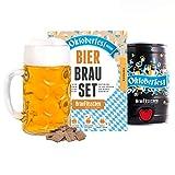 Oktoberfest Special Edition Bierbrauset zum selber brauen   Festbier im 5 Liter Fass   In 7 Tagen gebraut   Tolles Geburtstagsgeschenk für Männer   Braufässchen