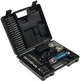 Mini-Bohrmaschine Gravur & Fräs Set'Drill-Power V2' 12V=, 12.000UpM, 63-teilig, 60 verschiedene Schleifwerkzeuge, Bohrer + Poliermatten