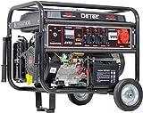 Benzin Stromerzeuger Notstrom Aggregat Stromgenerator 5,5 KW mit Starkstrom
