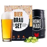 braufaesschen Bierbrauset zum selber Brauen   Helles im 5L Fass   Leckeres Bier In 7 Tagen gebraut   Perfektes Männergeschenk