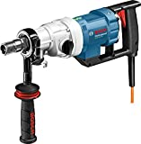 Bosch Professional 0601189800 Professional GDB 180 WE Nass-Diamantbohrmaschine, 180 mm Bohrbereich, Adapter Staubabsaugung, Kugelhahn, 5,2 kg, 2.000 W, Koffer, 2000 W, 230 V, Schwarz, Blau, Weiß