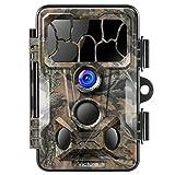 Victure Wildkamera mit Bewegungsmelder Nachtsicht 20MP 1080P 130° Weitwinkel Vision IP66 Wasserdicht mit 2,4'LCD Display für Jagd und Sicherheit zu Hause