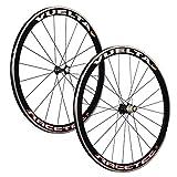 Vuelta 28 Zoll Rennrad Laufradsatz Racetec JoyTech schwarz