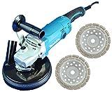 Sanierungsfräse/Renovierungsfräse/Estrichfräse/Winkelschleifer Set 180mm