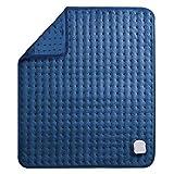 MaxKare Elektrisch Heizkissen für Rücken Nacken Schulter Großes Wärmekissen (50 x 60cm) mit Abschaltautomatik und Temperatureinstellung in 6 Stufen Weiche Oberfläche und Waschmaschinenfestes Gewebe