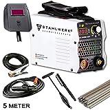 STAHLWERK ARC 200 MD IGBT - Schweißgerät DC MMA/E-Hand Welder mit echten 200 Ampere sehr kompakt, weiß, 5 Jahre Herstellergarantie