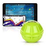 Eyoyo Fischfinder Smart Bluetooth Fish Finder, Tragbarer Kabelloser Sonar Fischfinder Kompatibel mit iOS- und Android-Handys Für Dock, Ufer, Boot, Eisfischen