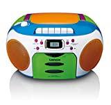 Lenco SCD-971 - Kinderradio - CD Player - kassettenrecorder - Multicolor
