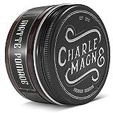 Charlemagne Matte Pomade - Starker Halt - Edler Duft - Matt Look Finish für die Haare - Mattes Haar-Wachs für Männer/Herren - 100ML Friseur Qualität | Styling Cream hergestellt in UK