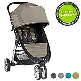 Baby Jogger City Mini2, leichter Kinderwagen, 3Räder, Schneller Einhand-Faltmechanismus, Sepia (Beige)