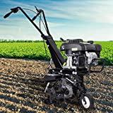 BRAST Benzin Ackerfräse 3,7kW (5PS) Arbeitsbreiten 36cm Selbstantrieb Motorhacke Gartenfräse Bodenfräse Kultivator